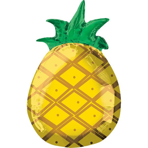 Foil Shape Totally Tropic Pineapple Balloon S40 | 18""