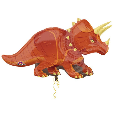 Foil Shape Triceratops Balloon | 42""