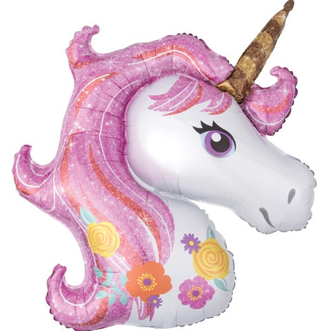 Magical Unicorn Supershape Balloon | 33""
