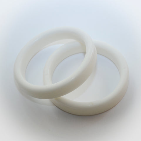 White Bangle Weights | 20g