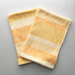 Yellow Striped Dish Towel