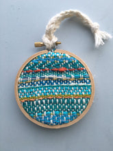 Woven Wall Hanging Embroidery Hoop