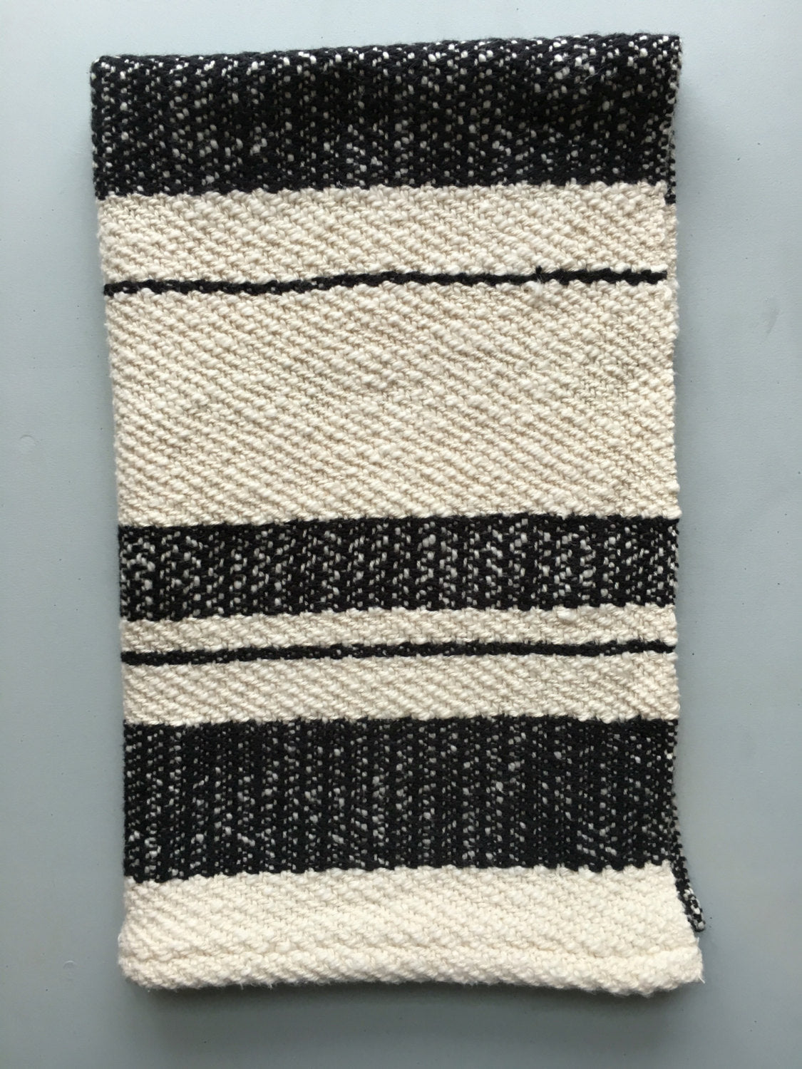 Dish Towel Woven Towel Black and White – Bristol Looms