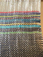 Blue Dish Towel Woven Towel Striped