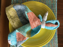 Striped Dish Towel Woven Towel
