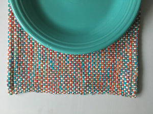 Placemats Set of 4 Handwoven Lobster Collection