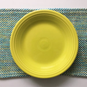 Set of 4 Placemats Handwoven Lime Collection