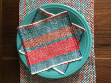 Cotton Napkins Handwoven Cotton Napkins Set of 6