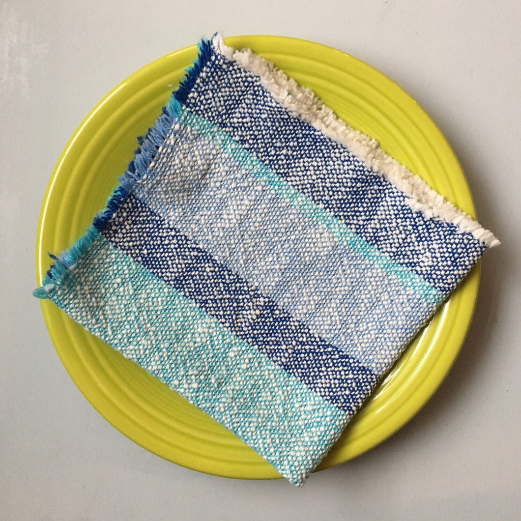 Cloth Napkins SET of TWO Dinner Napkins Cotton Napkins