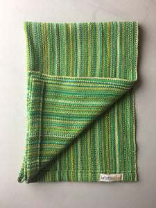 Lime Green Cotton Dish Towel
