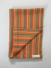 Orange Cotton Dish Towel Rainbow Towel