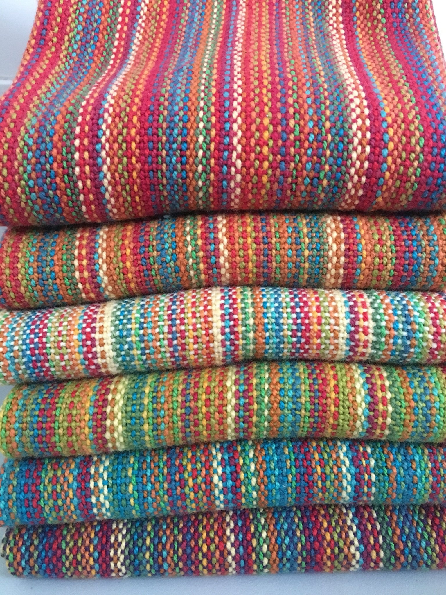 Blue Cotton Dish Towel (Rainbow) – Bristol Looms