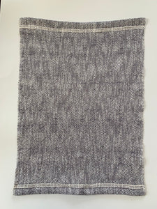 Gray Cotton Dish Towel Woven Towel