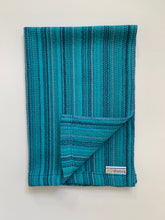 Cotton Dish Towel • Teal Blue