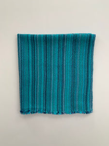 Teal Blue Cotton Napkins • Set of 4