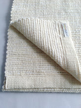 "68"" Cotton Table Runner • White Sand"