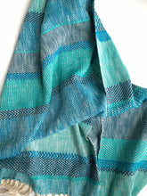 Shades of Blue Scarf