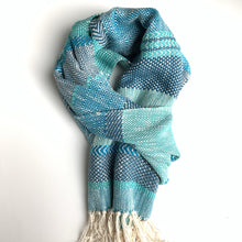 BLUE Woven Scarf