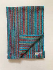 Blue Cotton Dish Towel