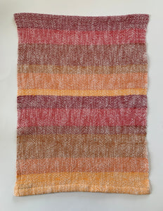 Orange and Red Dish Towel