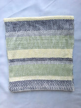 Cotton Baby Blanket Gray, Green, Yellow
