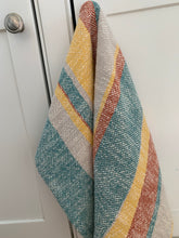 Cotton Dish Towel • Handwoven • Mid Century