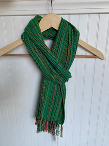 Green Bamboo/Cotton Scarf