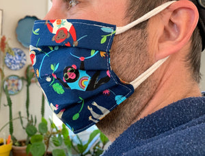 Patriotic Cotton Face Mask