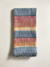 Cotton Dish Towel • Handwoven • Sunset