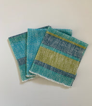 Striped Cloth Napkins SET of TWO Dinner Napkins Cotton Napkins
