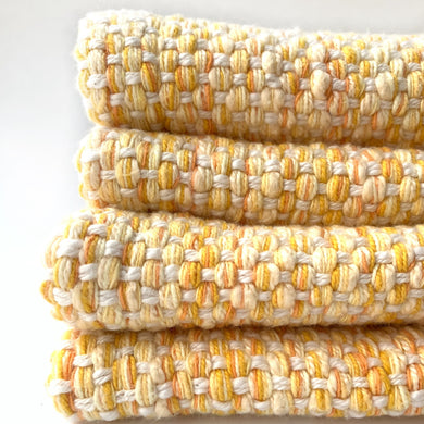 yellow cotton placemats