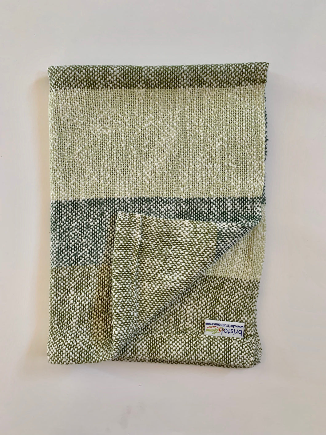 Green Stripe Dish Towel