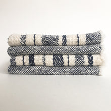 Set of 4 • Navy Cotton Napkins