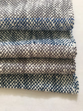 Blue Stripe Cotton Baby Blanket