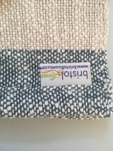 Dish Towel Woven Towel Shades of Gray