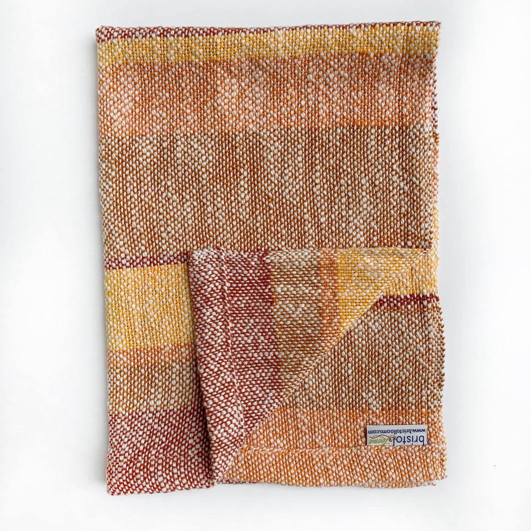 Fall Oranges Dish Towel