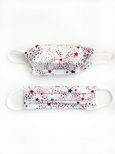 *SALE* Set of 3 Patriotic Cotton Face Masks