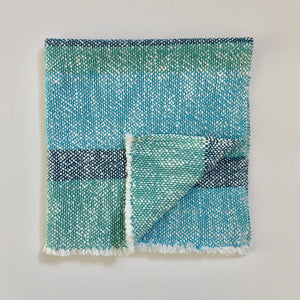Blue Stripe Cotton Dinner Napkin