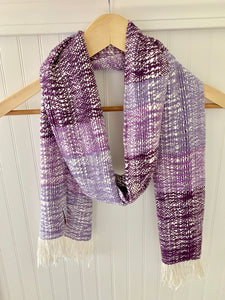 Shades of Purple Boho Scarf