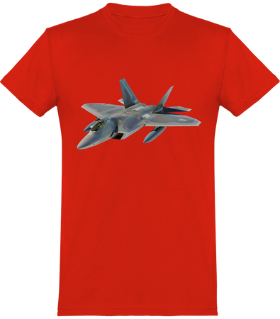 T Shirt Aviation avion de chasse - Drinkay