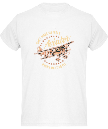 Tee Shirt Aviateur - Drinkay