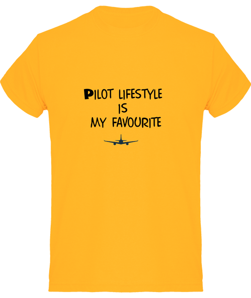 Tee Shirt Pilot Lifestyle - Drinkay