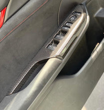 Load image into Gallery viewer, Revel gt carbon door panel trim for 10th gen civics