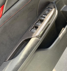 Revel gt carbon door panel trim for 10th gen civics