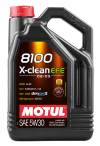 Motul 5L Synthetic Engine Oil 8100 5W30 X-CLEAN