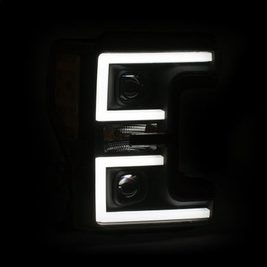 17-18 Ford F-250 Super Duty Plank-Style Headlights