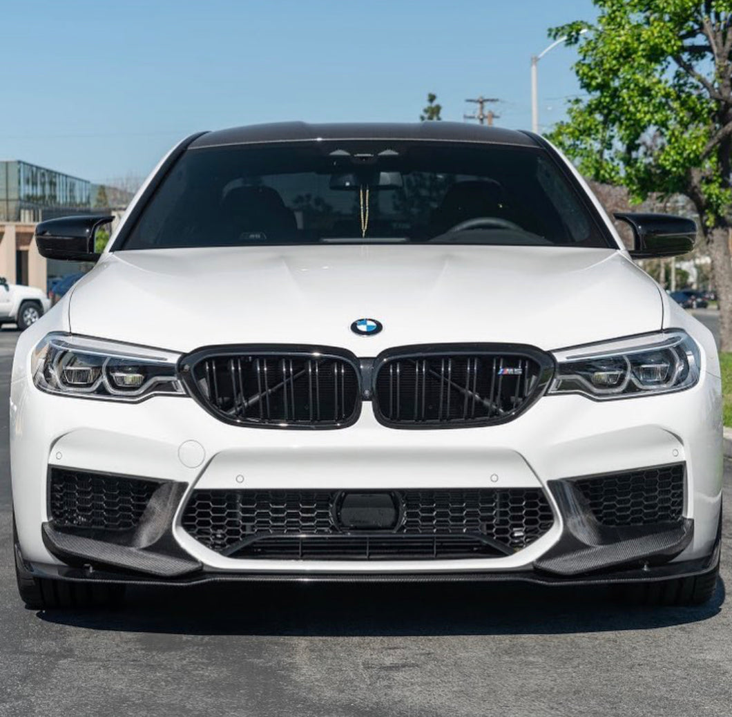 Perf style carbon splitters f90 m5