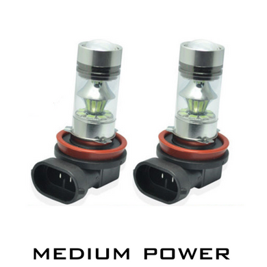 Medium Power LED Fog Light Bulbs