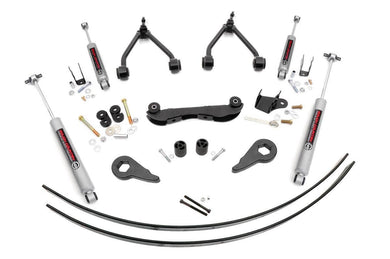 88-98 2 - 3in GMC/CHEVY Suspension Lift Kit (Rear Add-a-leafs)