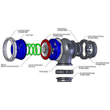 Load image into Gallery viewer, Comp-Gate40 External Wastegate 7 psi blue